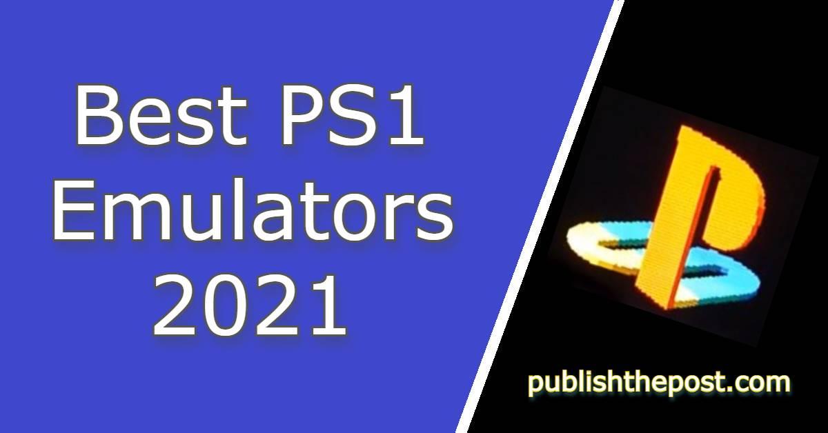 PS1 Emulators