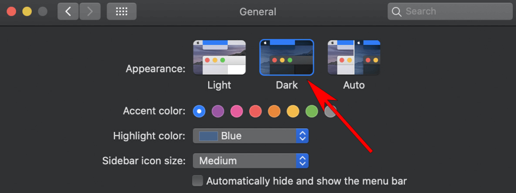 How to enable iTunes dark mode